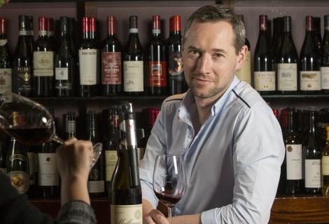 ely wine bar sommelier - Ian Brosnan