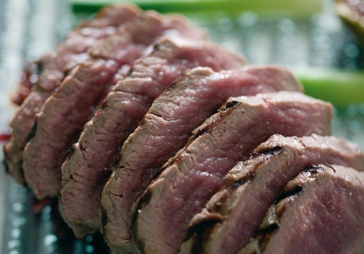 ely's Winter Recipes: Chargrilled Venison with Red Cabbage