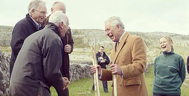A Gift from the ely Family Farm to HRH Prince Charles
