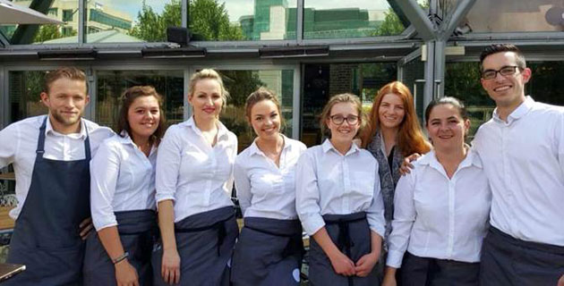 My work experience at ely bar and brasserie