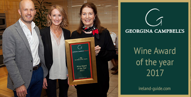 Georgina Campbell's Wine Award of the Year 2017