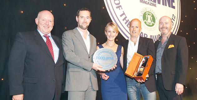 ely Wins Food & Wine 'Best Wine Experience Award 2012