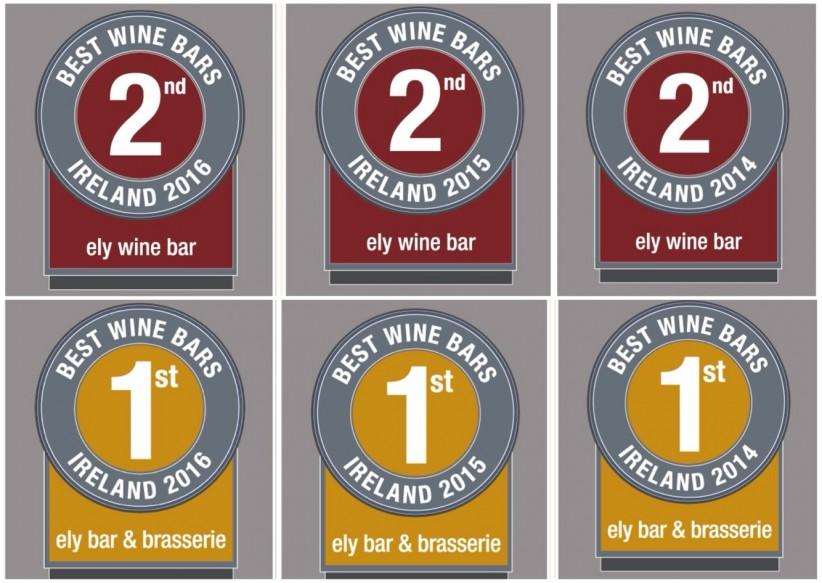 Sunday Business Post 'Best Wine Bar Style'