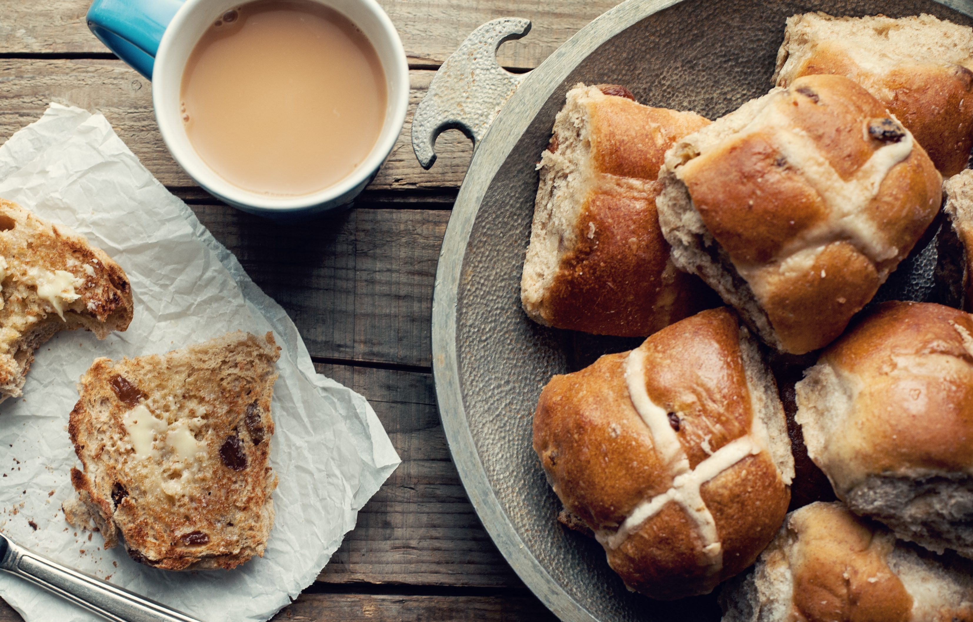 Hot Cross Buns Recipe: Chef Yamila's go-to sticky Easter treat!