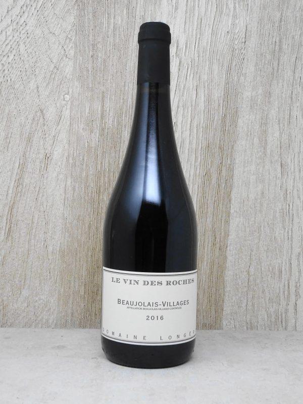 Longere Beaujolais-Villages. Le Vin de Roches
