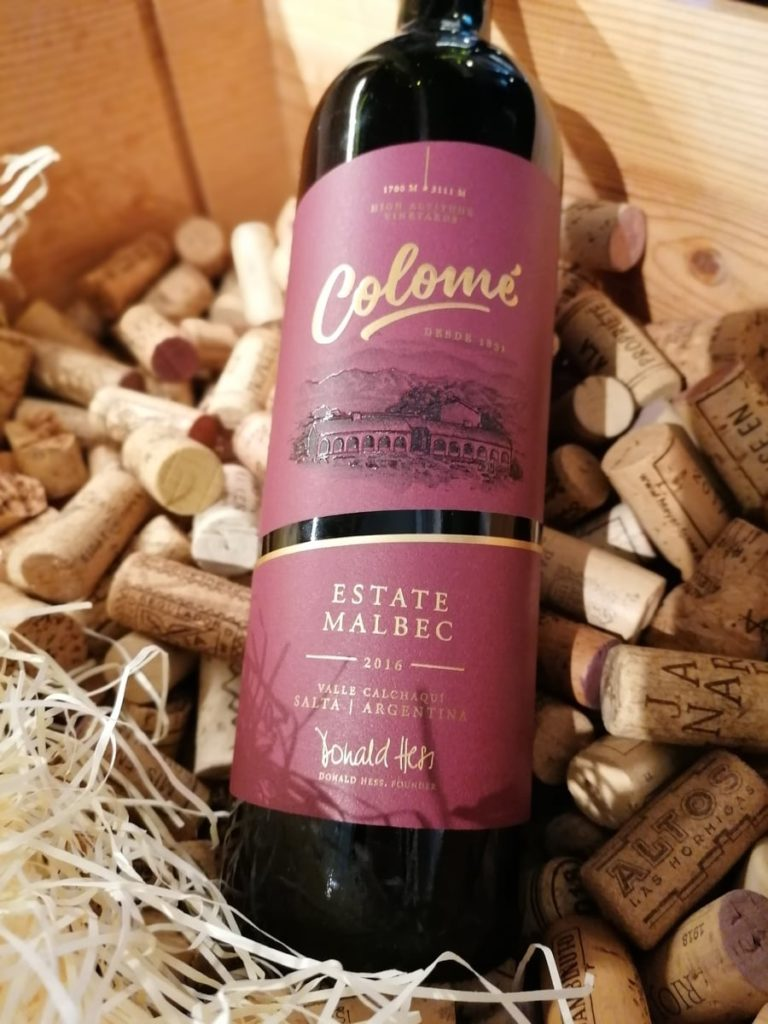 Colome  Estate Malbec 2016. In the spirit of the Rugby World Cup 2019, ELY WINE STORE, Maynooth are hosting their own World Cup of Wines! You get to vote for your favourites!