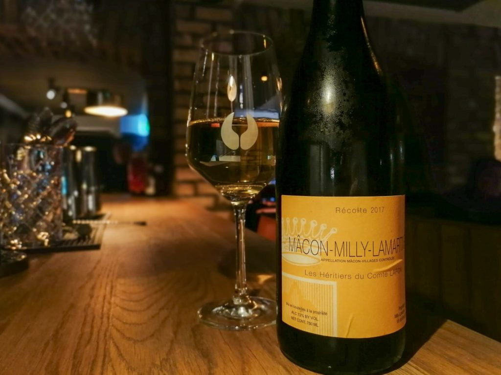 Les Herietieres de Comte Lafon Macon Milly Lamartine, Burgundy, France 2017  - Coravin by the glass in ELY WINE BAR 22 ely place
